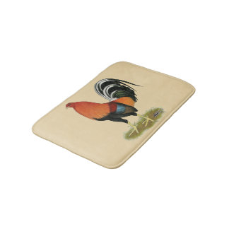 Gamecock Wheaten Rooster Bath Mat