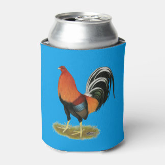 Gamecock Wheaten Rooster Can Cooler