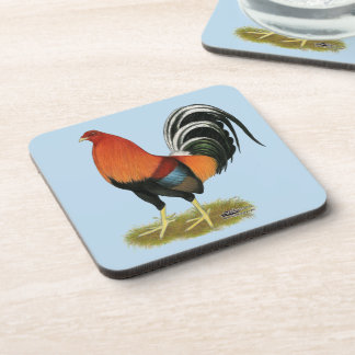 Gamecock Wheaten Rooster Coaster