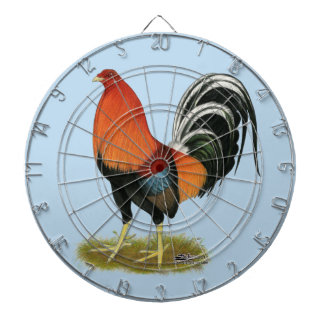 Gamecock Wheaten Rooster Dart Board
