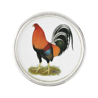 Gamecock Wheaten Rooster Lapel Pin