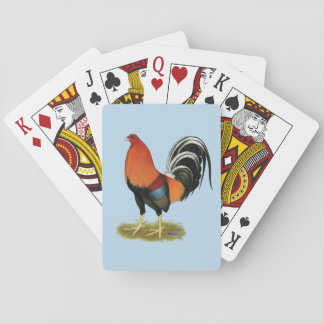 Gamecock Wheaten Rooster Poker Deck
