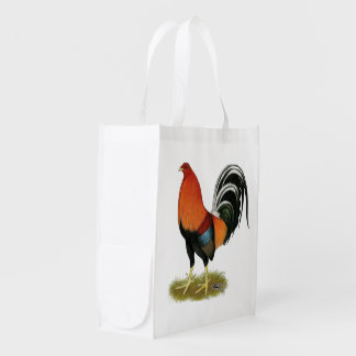 Gamecock Wheaten Rooster Reusable Grocery Bag