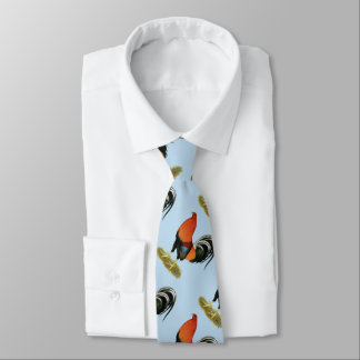 Gamecock Wheaten Rooster Tie