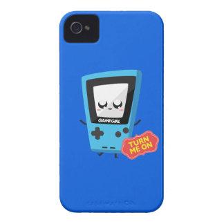 GameGirl blue iPhone 4 Cover