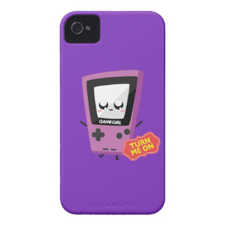 GameGirl purple iPhone 4 Case