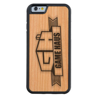 GameHAUS Phone - Wood Burn Cherry iPhone 6 Bumper Case