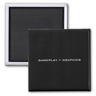 Gameplay > Graphics. Black White. Square Magnet