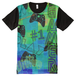 GAMER #1 All-Over PRINT T-Shirt