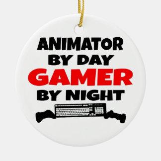 Gamer Animator Ceramic Ornament