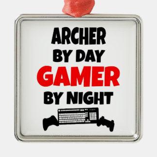 Gamer Archer Metal Ornament