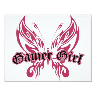 Gamer Butterfly 11 Cm X 14 Cm Invitation Card