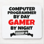 Gamer Computer Programmer Mouse Pad