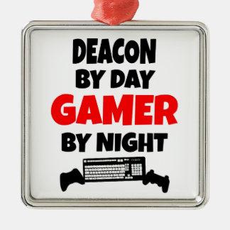 Gamer Deacon Metal Ornament