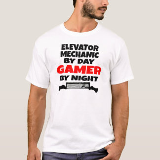 Gamer Elevator Mechanic T-Shirt