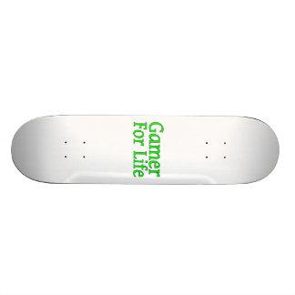 Gamer For Life 20 Cm Skateboard Deck