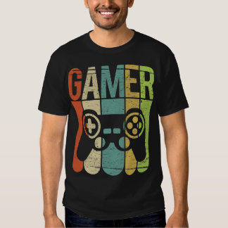 Gamer Game Controller T Shirt