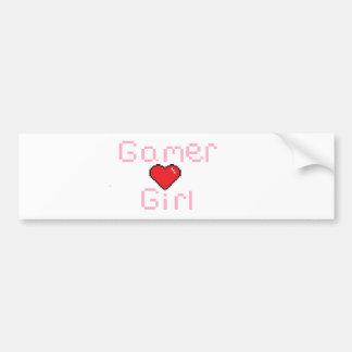 Gamer Girl Bumper Sticker