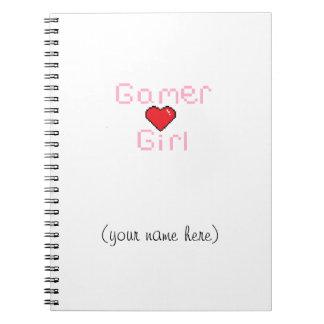 Gamer Girl Notebook