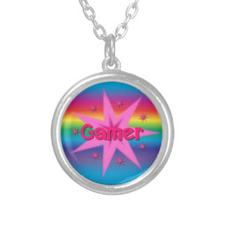 Gamer Girl Rainbow Necklace