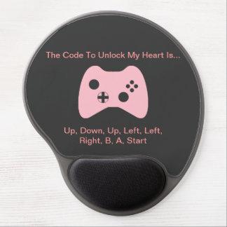 """""""Gamer Girl's Heart"""" Gel Mousepad"""
