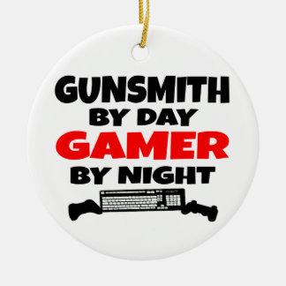 Gamer Gunsmith Ceramic Ornament
