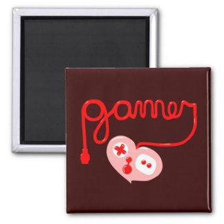 Gamer Heart Magnets
