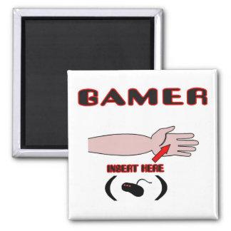 Gamer Insert Controller Here Square Magnet