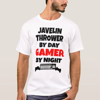 Gamer Javelin Thrower T-Shirt