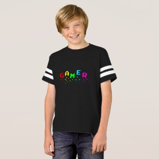 GAMER Kids' American Football Shirt