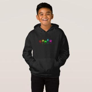 GAMER Kids' Fleece Pullover Hoodie, Black