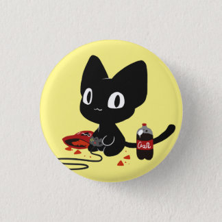 Gamer Kitty Button