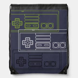 Gamer knapsack drawstring bag