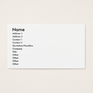 Gamer Marquee Business Card