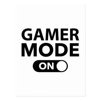 Gamer Mode On Postcard