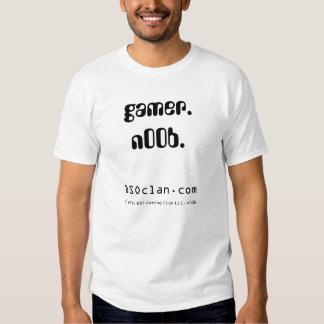 gamer. n00b. shirts