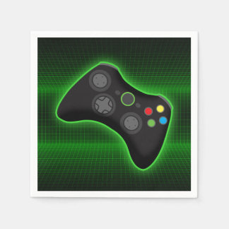 gamer napkins disposable serviettes