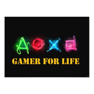 Gamer of life card