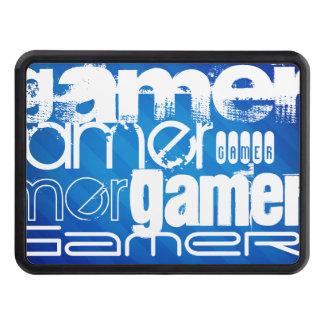 Gamer; Royal Blue Stripes Hitch Cover
