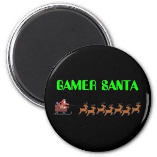 Gamer Santa Magnet
