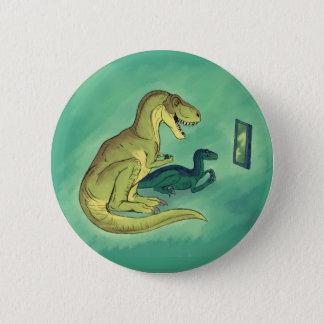 Gamer-Saurus 6 Cm Round Badge