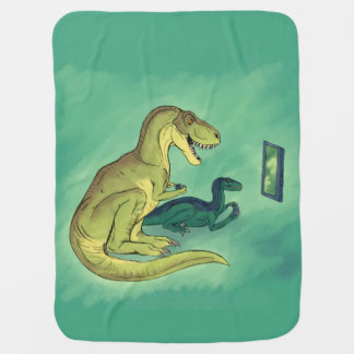 Gamer-Saurus Baby Blanket