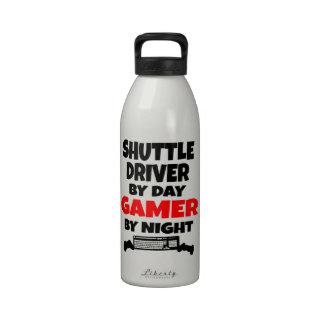 Gamer Shuttle Driver Water Bottles