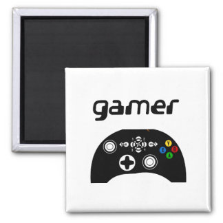gamer square magnet