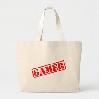 Gamer Stamp Canvas Bags