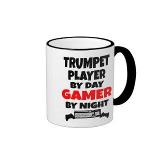 Gamer Trumpet Player Ringer Mug