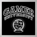 Gamer University (Black & White)