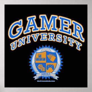 Gamer University Poster
