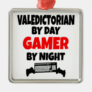 Gamer Valedictorian Metal Ornament