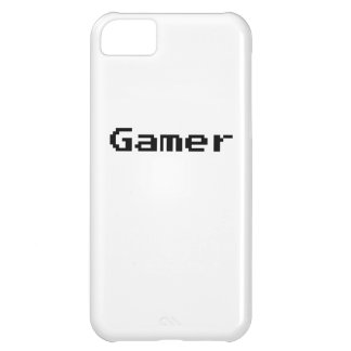 Gamer Video Game Font iPhone 5C Case